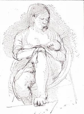 Aat Veldhoen, Moederschap