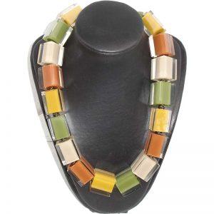 Halsketting gekleurd vierkant3 800px
