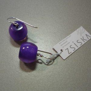 oorbel color round purple 800px