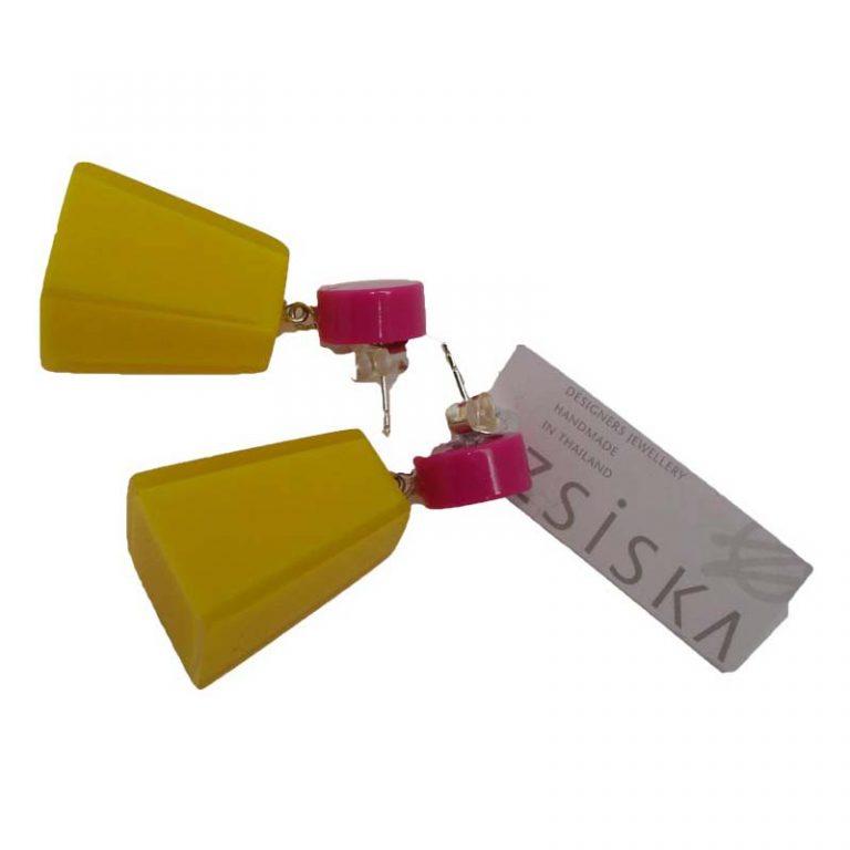 oorbel-vivid-yellow
