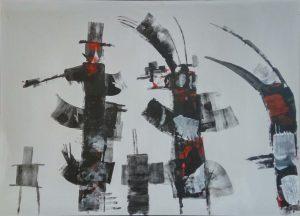 Wim van Oostrom nr 4 acryl op paneel 50x70cm 500px