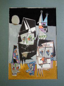 nr1487 Eef de Weerd collage 1981 100x70cm 500px