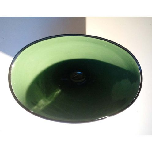 vase green blue 25cm a