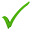 checkmark groen