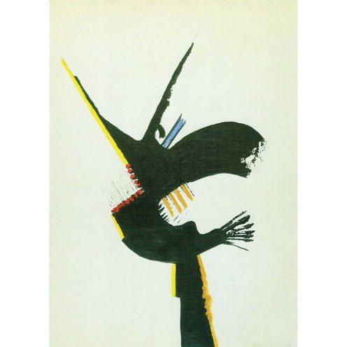 kunstkaart Wim van Oostrom