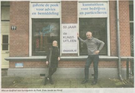 Hengelos Weekblad 28-01-2020 50 jaar de kunstuitleen