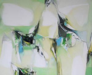 Plamen Bibeschkov nr.13 olieverf op doek 90x130 cm