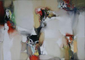 Plamen Bibeschkov nr.2 olieverf op doek 100x140 cm