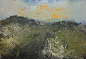 Ruud Brinks Landschap Toscane 215x30cm 500px