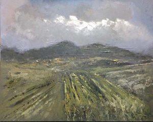 Ruud Brinks Toscaans landschap 80x100cm 500px