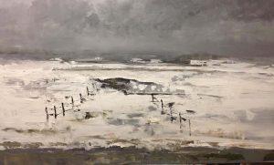 Ruud Brinks Winters landschap 120x 200cm 500px