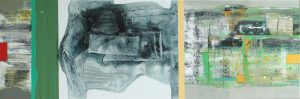 Ubergang 1 50x150 cm acryl 1