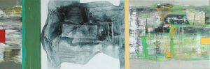 Ubergang 1 50x150 cm acryl