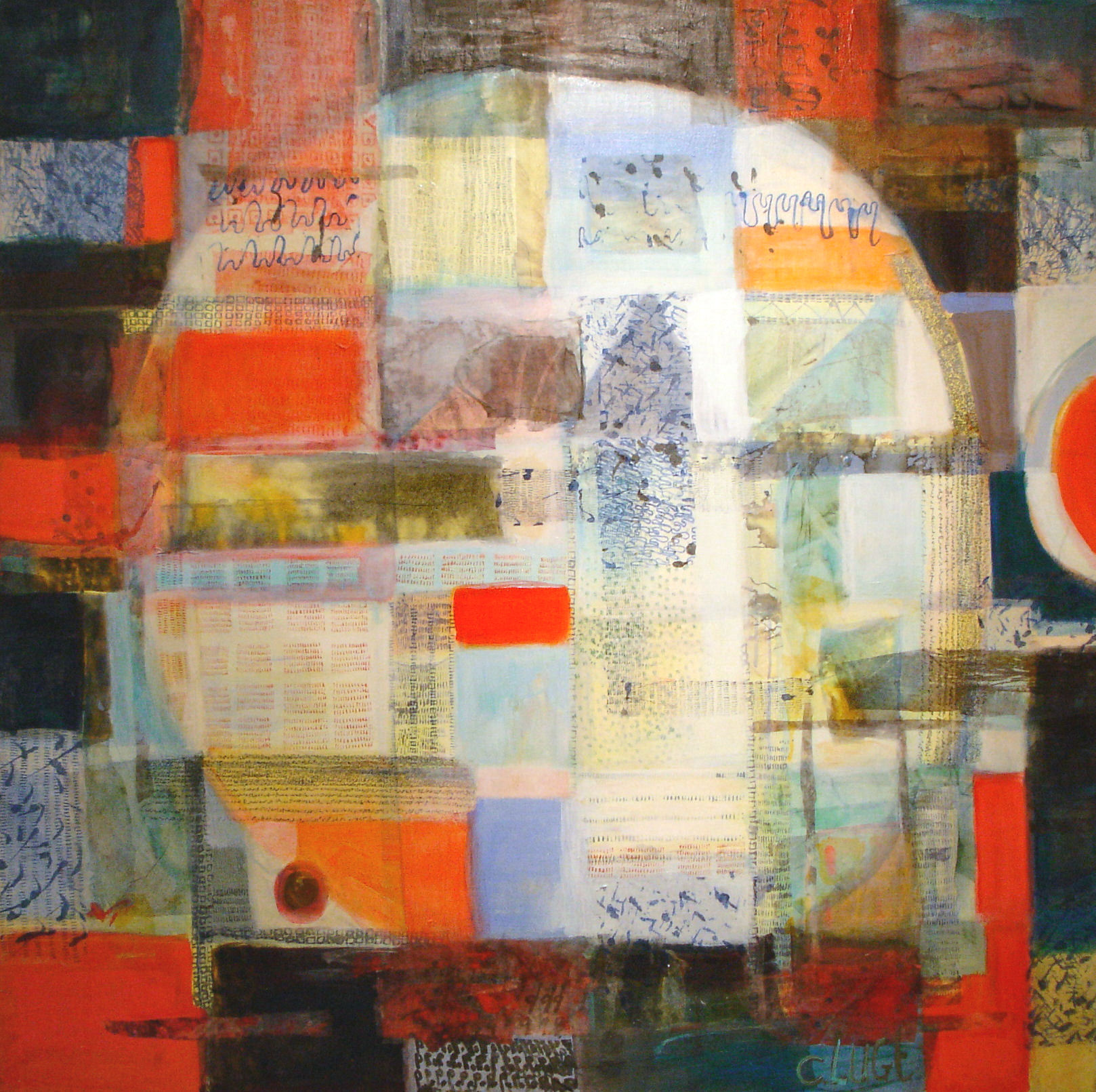 Charlotte Lugt-Fiercle-mixed media-120x120cm